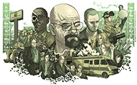 Breaking Bad fanart by Alexander Iaccarino