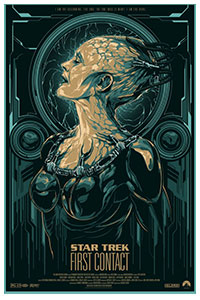 Star Trek First Contact poster by Ken Taylor