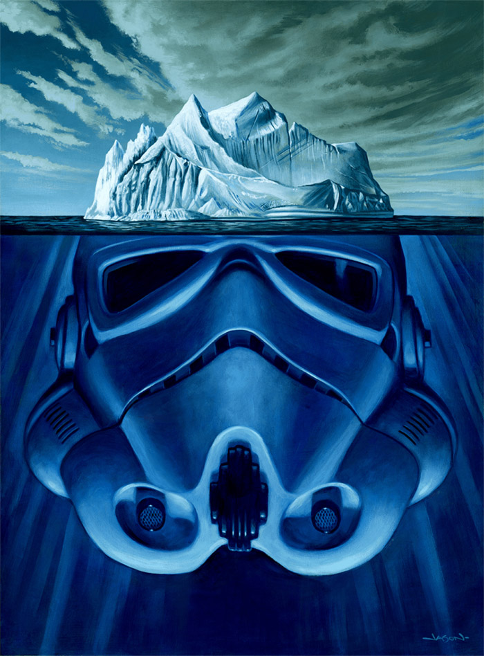 HIBERNATION Star Wars Inspired Artwork by Jason Edmiston