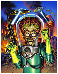 Mars Attacks by Jason Edmiston