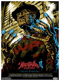 A Nightmare on Elm Street 3 fanart poster