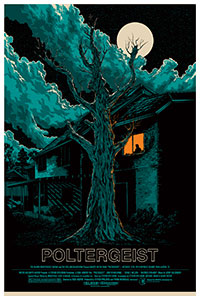 Poltergeist (1982) poster by Ken Taylor