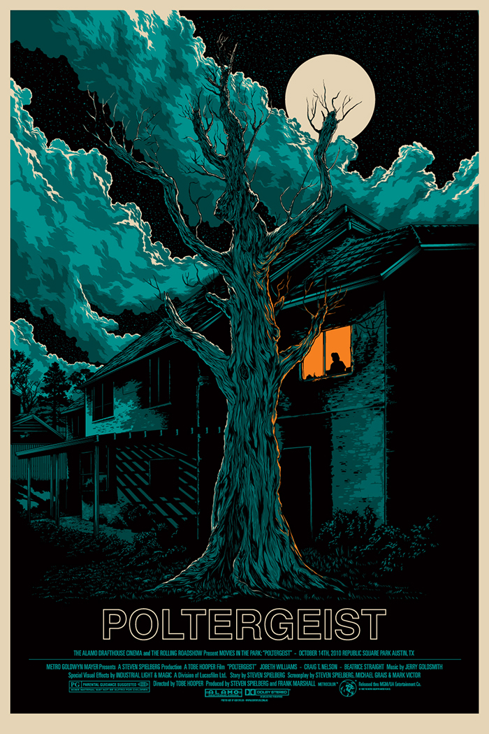 Poltergeist Poster by Ken Taylor