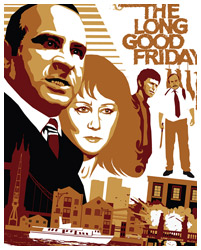 The Long Good Friday poster art by Paul Flanders