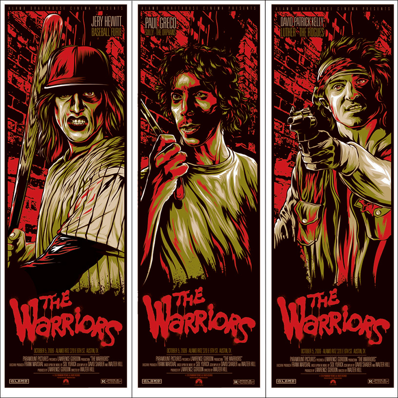 The Warriors poster by Ken taylor