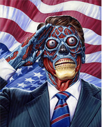They Live (1988) artwork by Jason Edmiston