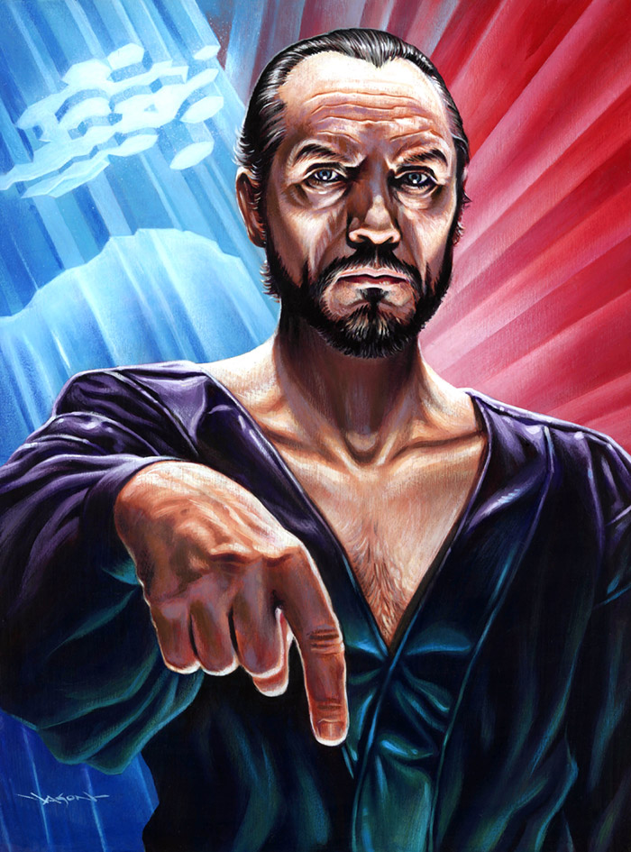 General Zod from Superman 2 artwork by Jason Edmiston