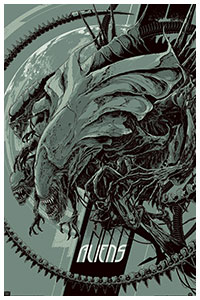 Aliens artwork by Ken Taylor