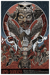 Army of Darkness poster by Randy Ortiz