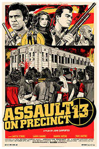 Assault on Precinct 13 poster by Tyler Stout