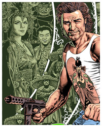 Big Trouble in Little China poster by Chris Weston