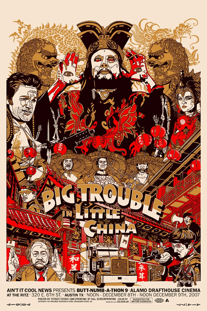 Big Trouble in Little China poster by Tyler Stout