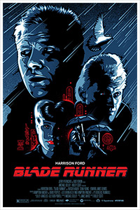 Blade Runner poster art by James White