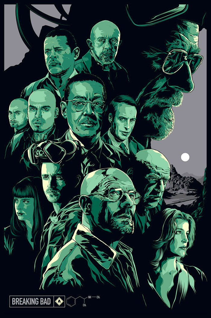 Breaking Bad poster by Ken Taylor