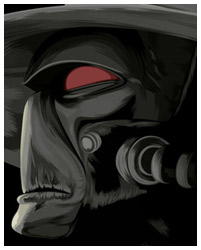 Cad Bane from Star Wars the Clone Wars fanart poster