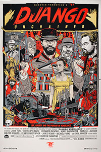 Django Unchained poster by Tyler Stout