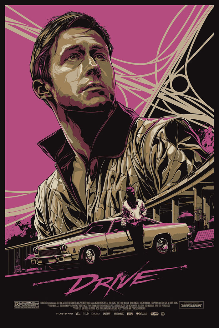 Drive poster art by Ken Taylor