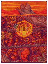 Dune poster by Kevin Tong