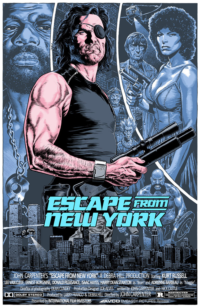 Escape From New York Poster.Escape From New York Poster By Chris Weston