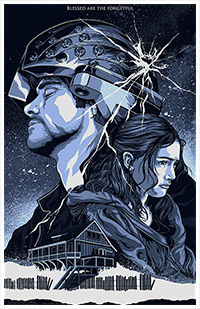 Eternal Sunshine of the Spotless Mind poster by Alexander Iaccarino