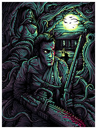 The Evil Dead poster print by Dan Mumford