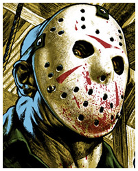 Friday the 13th Part 3 poster by Jason Edmiston
