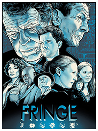 Fringe poster by Joshua Budich