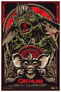 Gremlins artwork By Ken Taylor