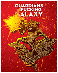 Guardians of the Galaxy (2014) alternative movie poster by Harijs grundmanis