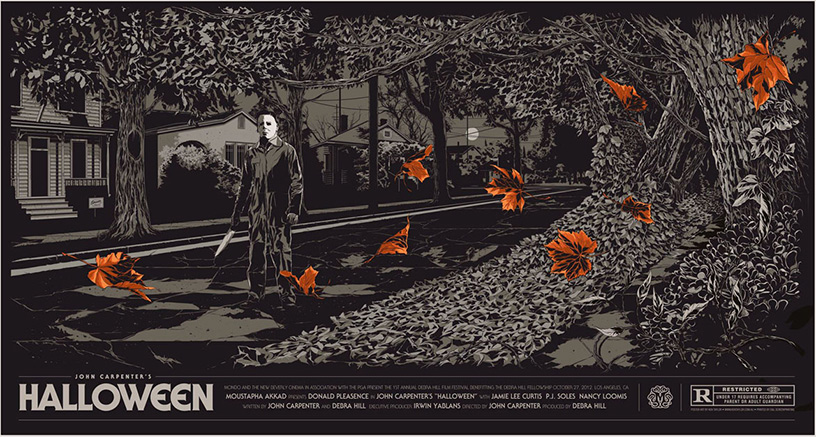 Halloween poster by Ken Taylor