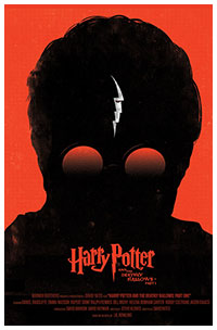 Harry Potter poster art by Olly Moss