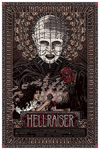 Hallraiser poster art by Florian Bertmer