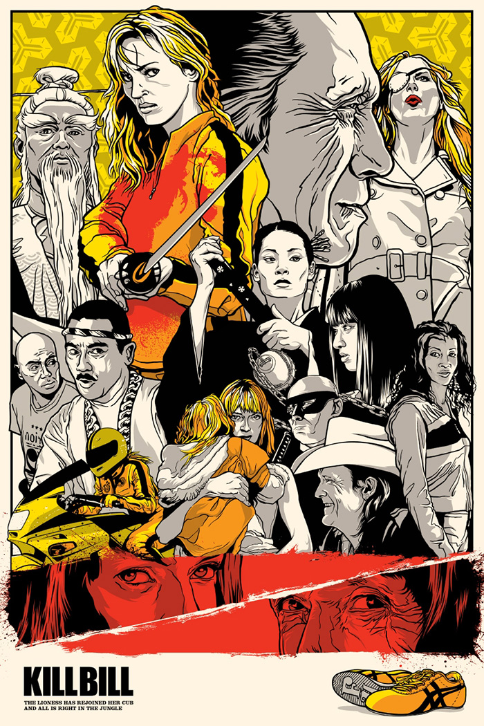 Kill Bill Poster by Joshua Budich