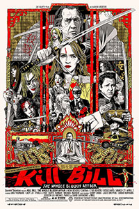Kill Bill poster by Tyler Stout
