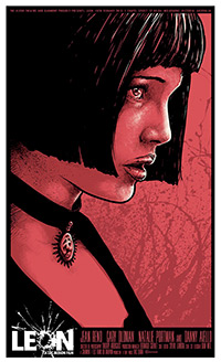 Leon the Professional poster print by Godmachine