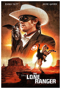The Lone Ranger poster art by Paul Shipper