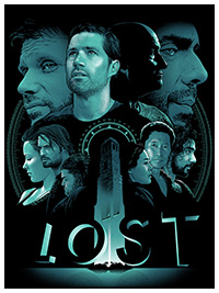 Lost poster by Joshua Budich