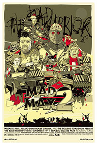 Mad Max poster by Tyler Stout