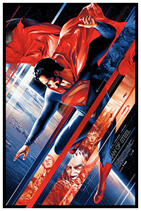 Man of Steel poster print by Martin Ansin