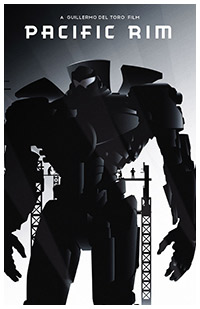 Pacific Rim poster art by Rodolfo Reyes
