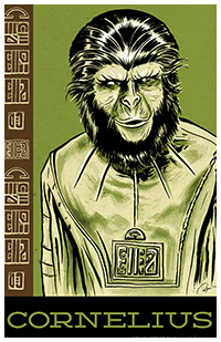 Planet of the Apes artwork by Blain Hefner