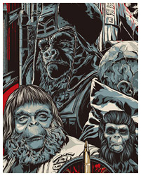 Planet of the Apes artwork By Ken Taylor