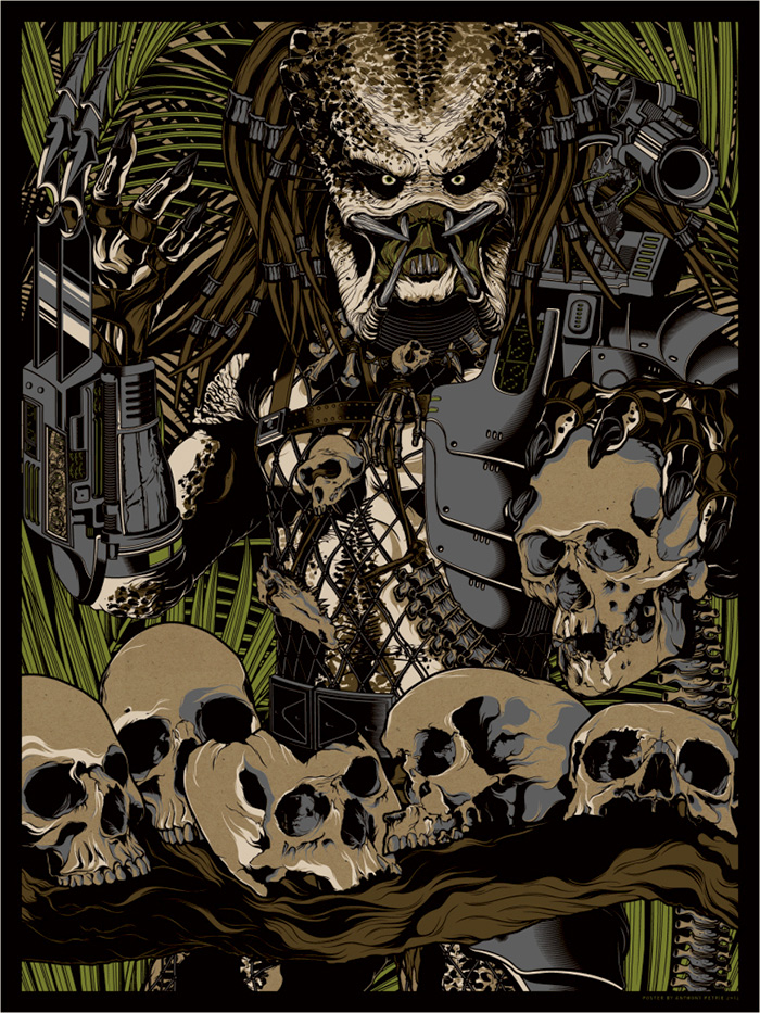 Predator fanart by Anthony Petrie