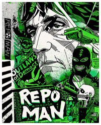 Repo Man poster by Tyler Stout