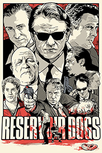 Reservoir Dogs poster by Joshua Budich