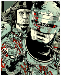 Robocop poster by Tyler Stout