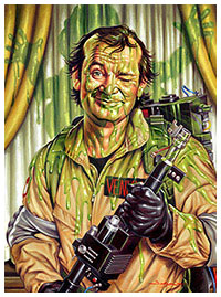 Slimed - Ghostbusters fanart by Jason Edmiston