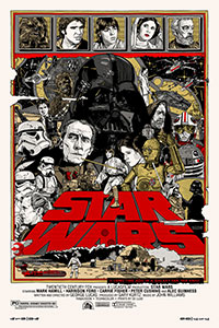 Star Wars A New Hope by Tyler Stout