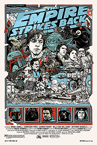 Star Wars: The Empire Strikes Back poster by Tyler Stout