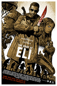 The Book of Eli (2010) poster by Chris Weston
